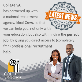College SA, Ideal Crew, Job Assistance, Sports Courses